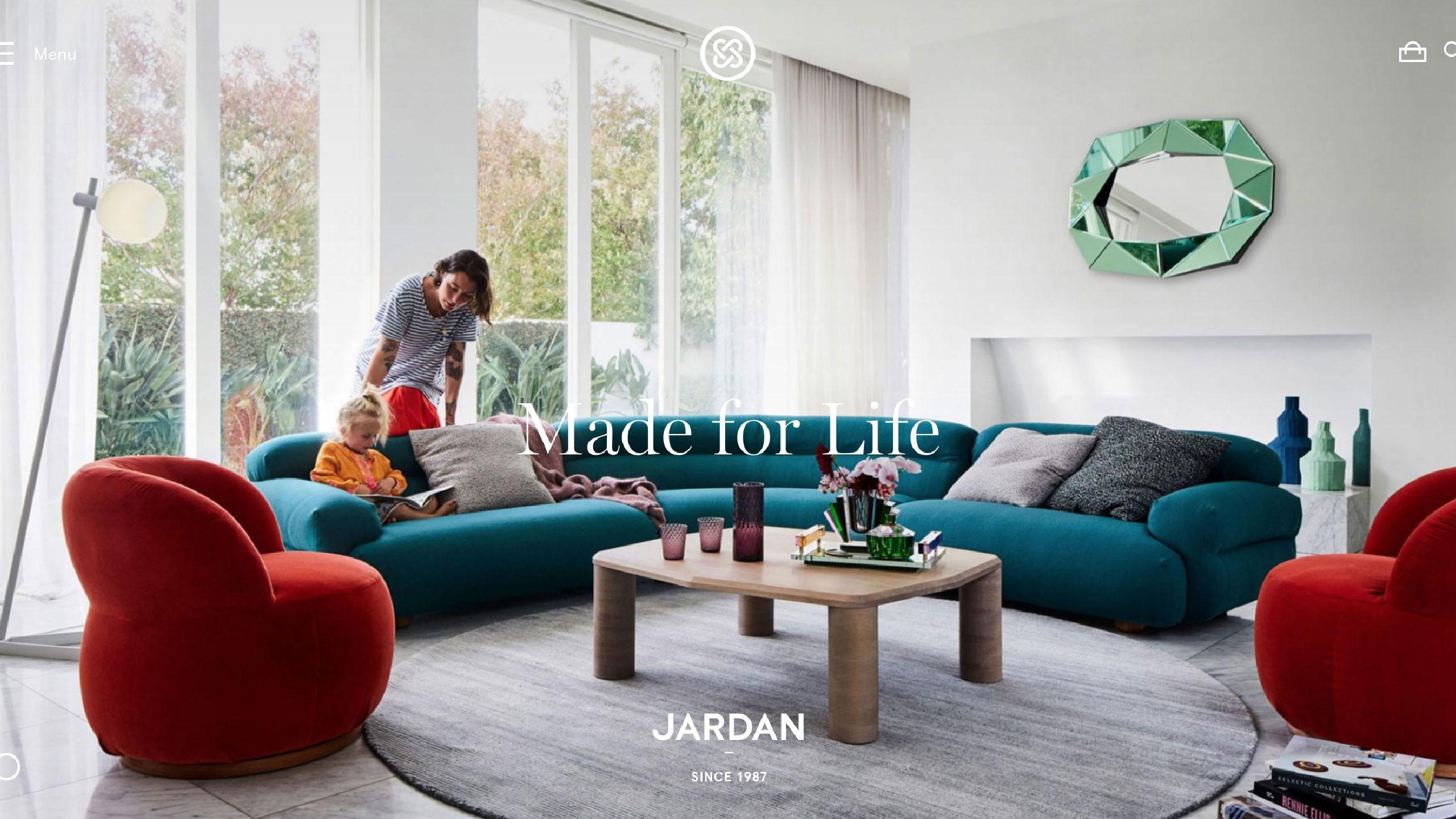10个家具网站设计欣赏