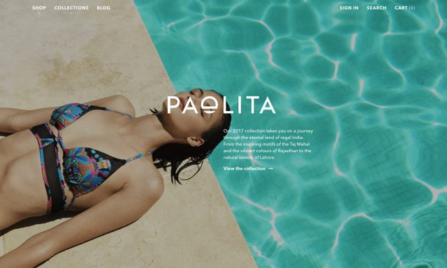 16个美色当道性感撩人的网站设计欣赏