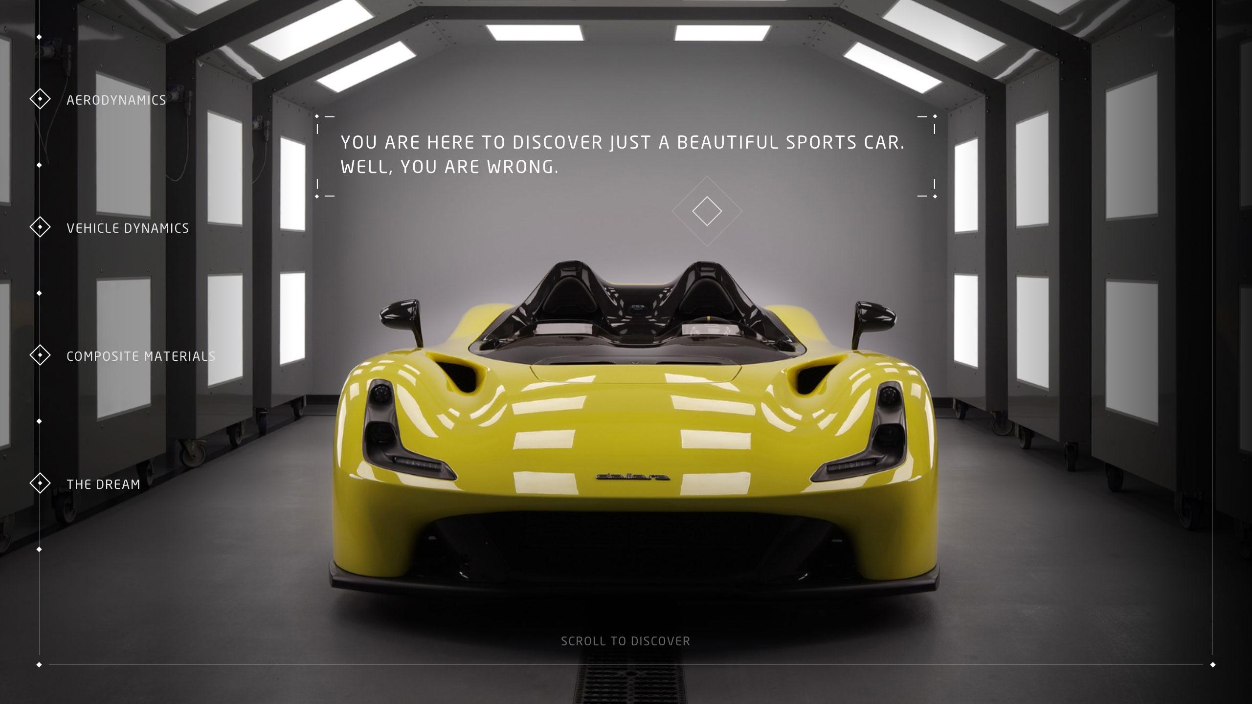 18个汽车类相关网站设计欣赏