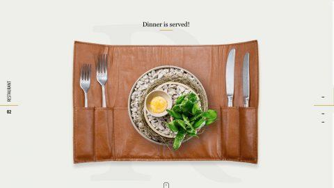 10个餐厅类网站设计欣赏